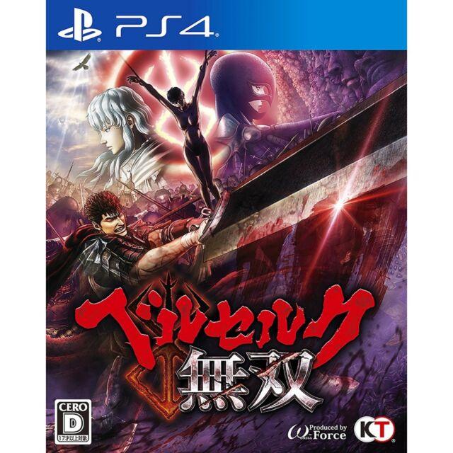 Berserk Musou SONY PS4 PLAYSTATION JAPANESE NEW JAPANZON