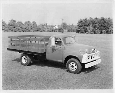 1958 Studebaker Diesel Medium Duty Trucks /& Tractors Press Photo /& Release 0026