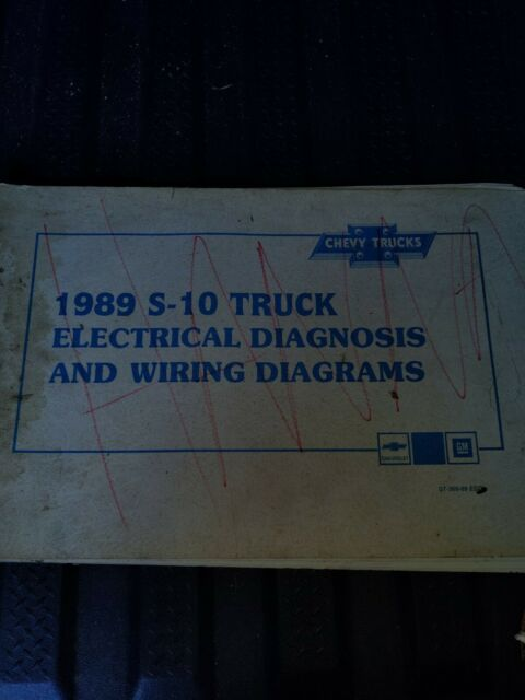 1989 Chevy S 10 Truck Electrical Diagnosis And Wiring