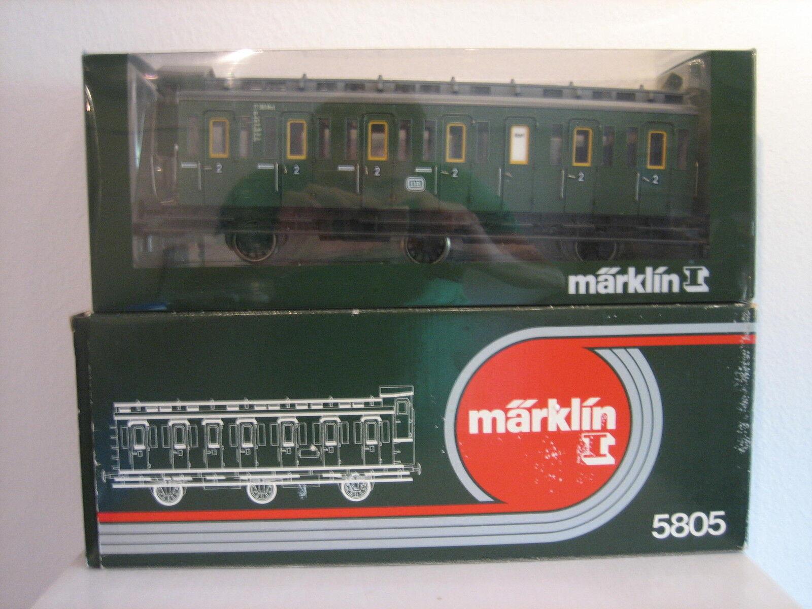 Märklin 5805 1 Gauge Passenger Car Mint Original Box