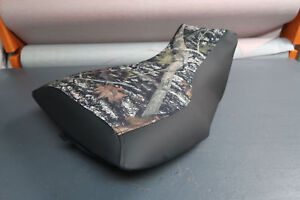 Yamaha Grizzly 700 Camo Top Black Sides Logo Seat Cover