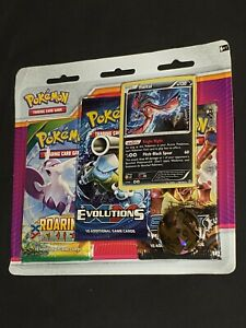 Pokemon-XY-2017-3-Booster-Blister-Pack-Yveltal-Promo-New-with-Tracking