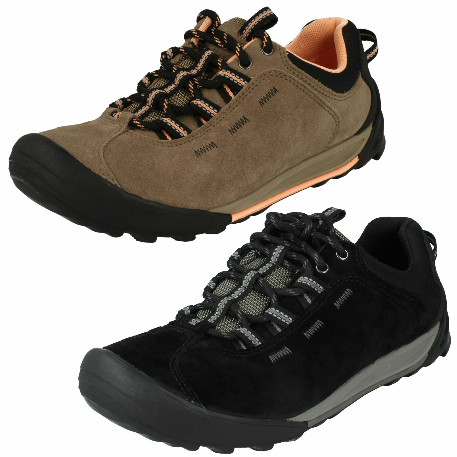 LADIES CLARKS LACE WEAR UP ACTIVE WEAR LACE SPORTS OUTDOOR TRAINERS Schuhe OUTLAY WEST eb42db