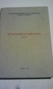Studi-storico-militari-1992-Stato-maggiore-dell-039-esercito