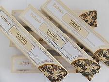 - Neu new - 6 x 15 Gramm Tulasi Vanilla Vanille Räucherstäbchen incense sticks