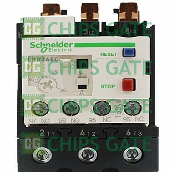 1PCS Brand New In Box Schneider Thermal Overload Relay LRD340C 30-40A Fast Ship