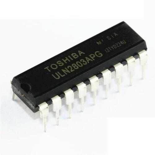 20PCS ULN2803APG ULN2803 DIP-18 DARLINGTON ARRAYS TOSHIBA IC