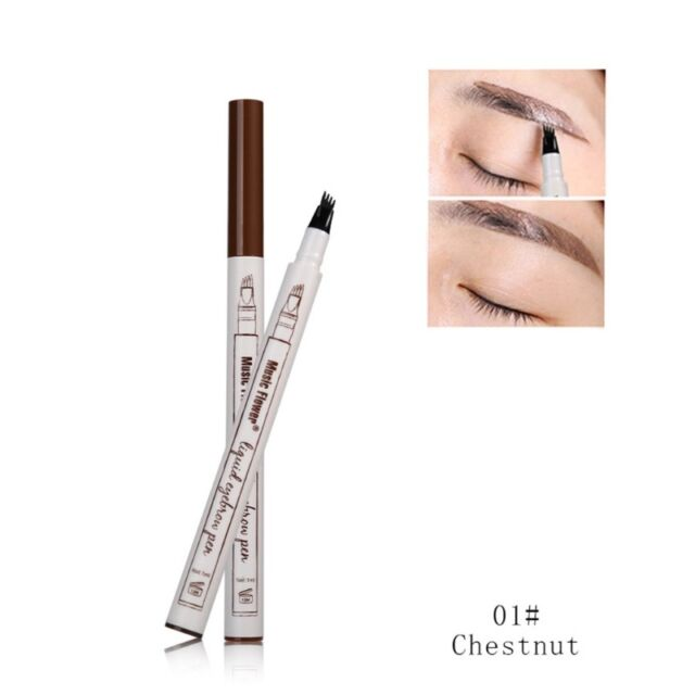 Makeup Sketch Liquid Eyebrow Pen Waterproof Tattoo Super Durable Eye