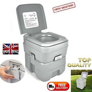 Camping-Camper-Motorhome-Toilet-20L-WC-Chemical-Porta-Potti-FESTIVAL-SELF-BUILD