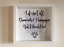 IKEA-RIBBA-Box-Frame-Personalised-Vinyl-Wall-Art-Quote-Life-isnt-all-about thumbnail 1