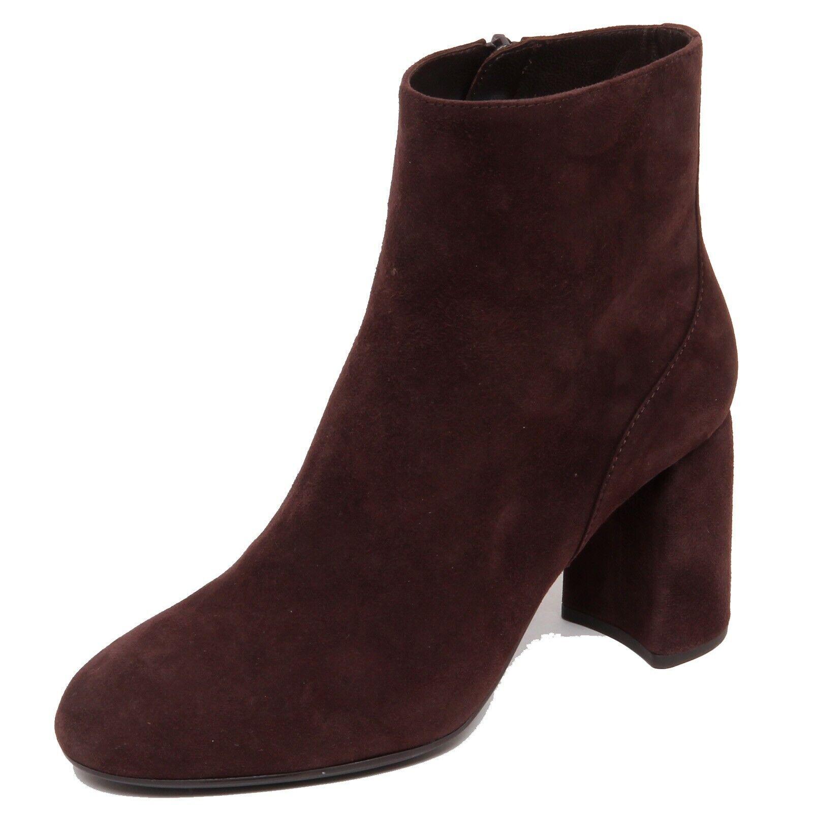 F6014 tronchetto mujer marrón UniSA odolfo zapatos bota zapatos Woman