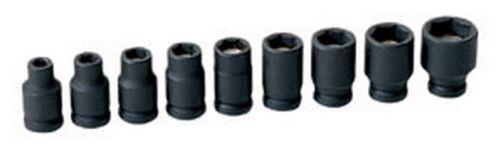 "Magnetic Impact Socket Set GRY-9709G Brand New! 1//4/"" Drive 9 pc"