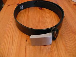 Lederguertel-schwarz-neu-85-cm