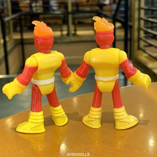 Lot 2 pcs Imaginext DC Super Friends DC COMICS FIRESTORM SERIES 3 figures SDUK