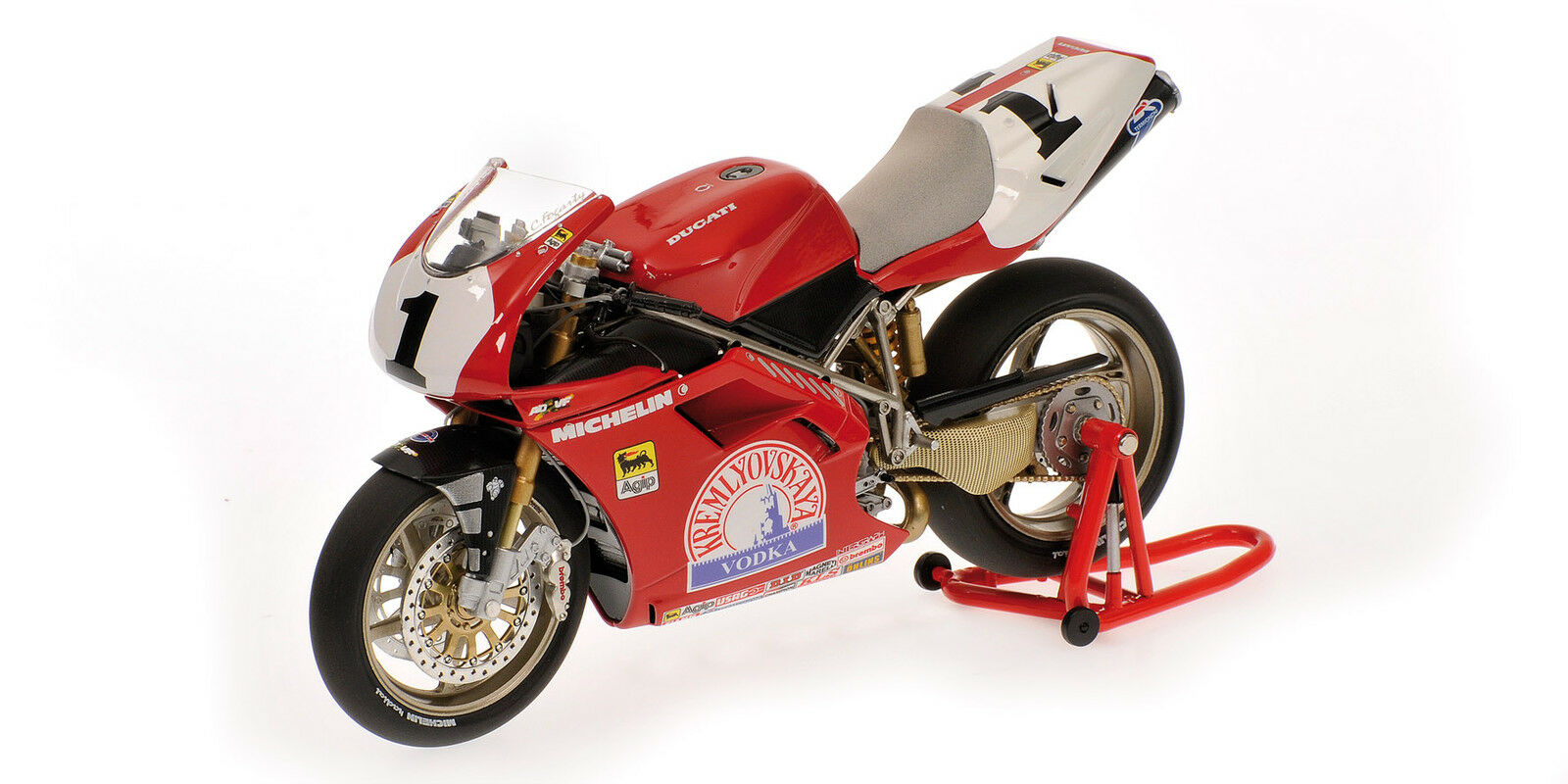 Minichamps Ducati 916 1995 1:12  1 Carl Fogarty  GBR  World Champion WSBK
