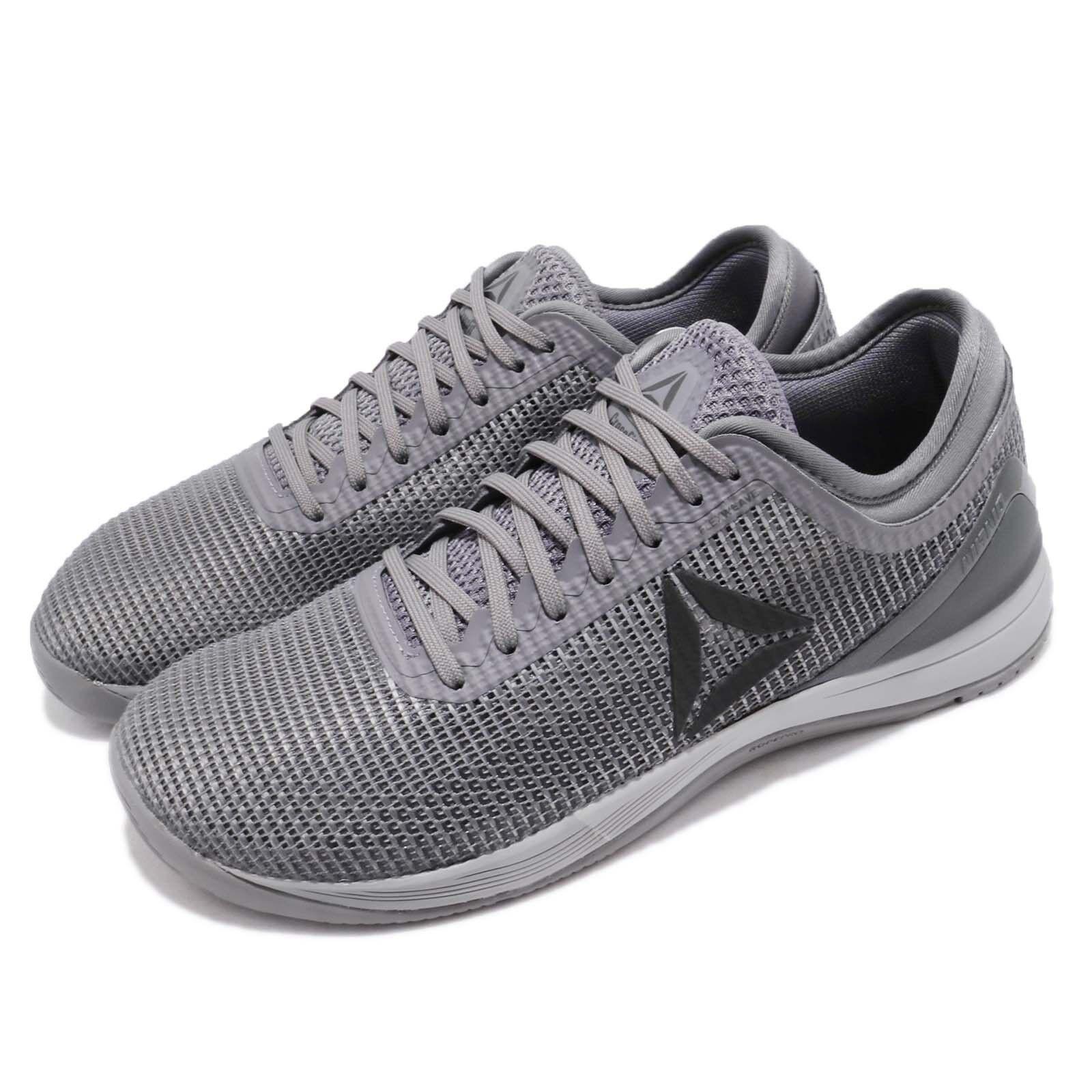 Reebok R CrossFit  Nano 8.0 grigio Dark argento Men Cross Training scarpe CN2976  articoli promozionali
