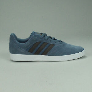 best service 3b4cf 82778 Image is loading Adidas-Suciu-ADV-Skate-Trainers-Shoes-Blue-White-
