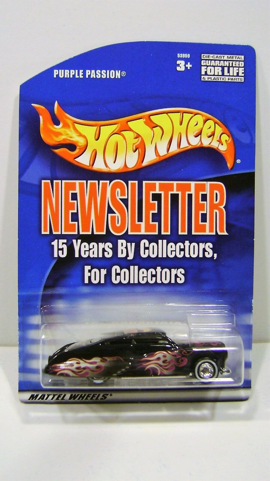 Hot Wheels 15th Convention Dinner lila Passion MBK PP Sample RARE
