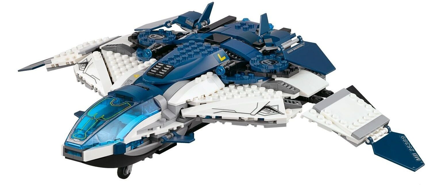 Genuine Lego Avengers 76032 Quin Jet City Chase plane only BN parts Marvel