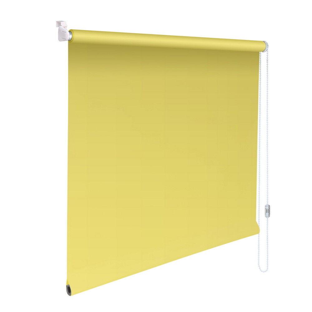 Mini-Rollo Klemmfix Klemmrollo Easyfix Abdunkelung - Höhe 140 cm gelb | Luxus