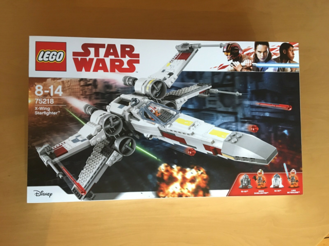 Lego Star Wars, X-Wing Starfighter, 75218, Uåbnet æske,…
