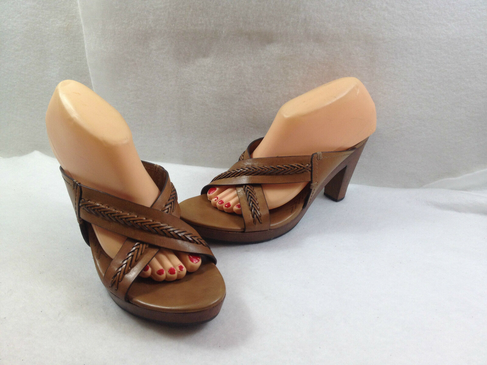 Cole Haan High Heel Slides Sandals Shoes Womens Size 10.5 B