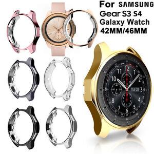 Schutzhuelle-Silicon-Shell-For-Samsung-Gear-S3-S4-Galaxy-Watch-46mm-42mm-mode