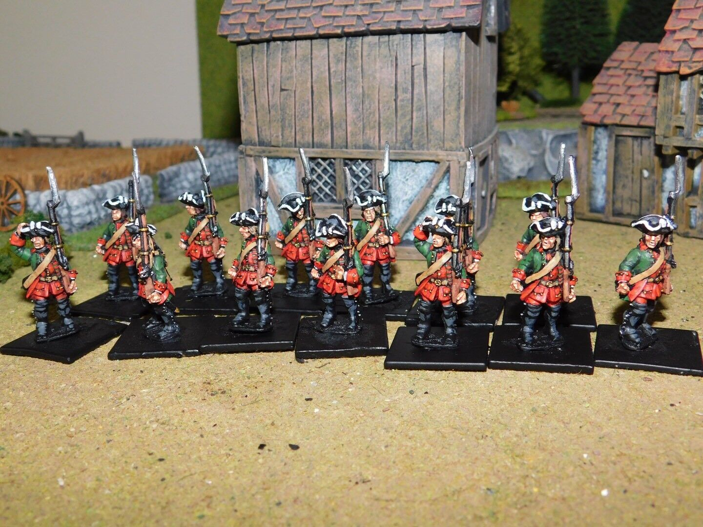 SYW RUSSIAN MUSKETEERS PRO PAINTED BY BY BY EYE 28MM FOUNDRY MINIATURES e2eaaf