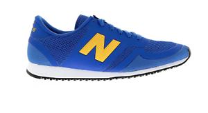 Mens NEW BALANCE 420 bluee Textile Trainers U420DBY