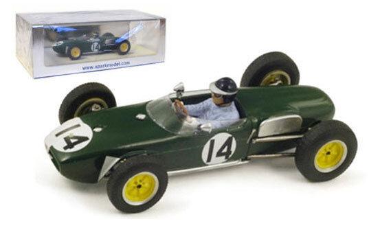 Spark S1840 lotus 18  14 3rd portugal  gp 1960-jim clark échelle 1 43  magasin vente sortie