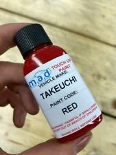 Red Touch Up Paint For Takeuchi Tb210 Tb216 Tb219 Micro Mini Digger Excavator