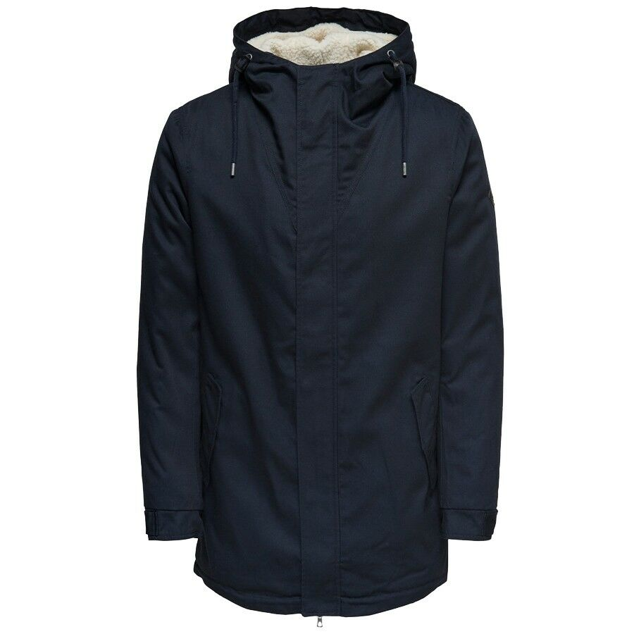 Only & Sons WARM PARKA COAT 22010831 blue mod. 22010831