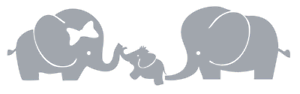 Elephant-Baby-amp-Family-Vinyl-Sticker-Decal-1045-Made-to-Order