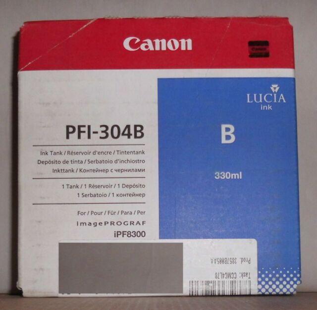 Original Canon PFI-304B Tinte blau für ImagePROGRAF iPF8300  3857B005AA 2012