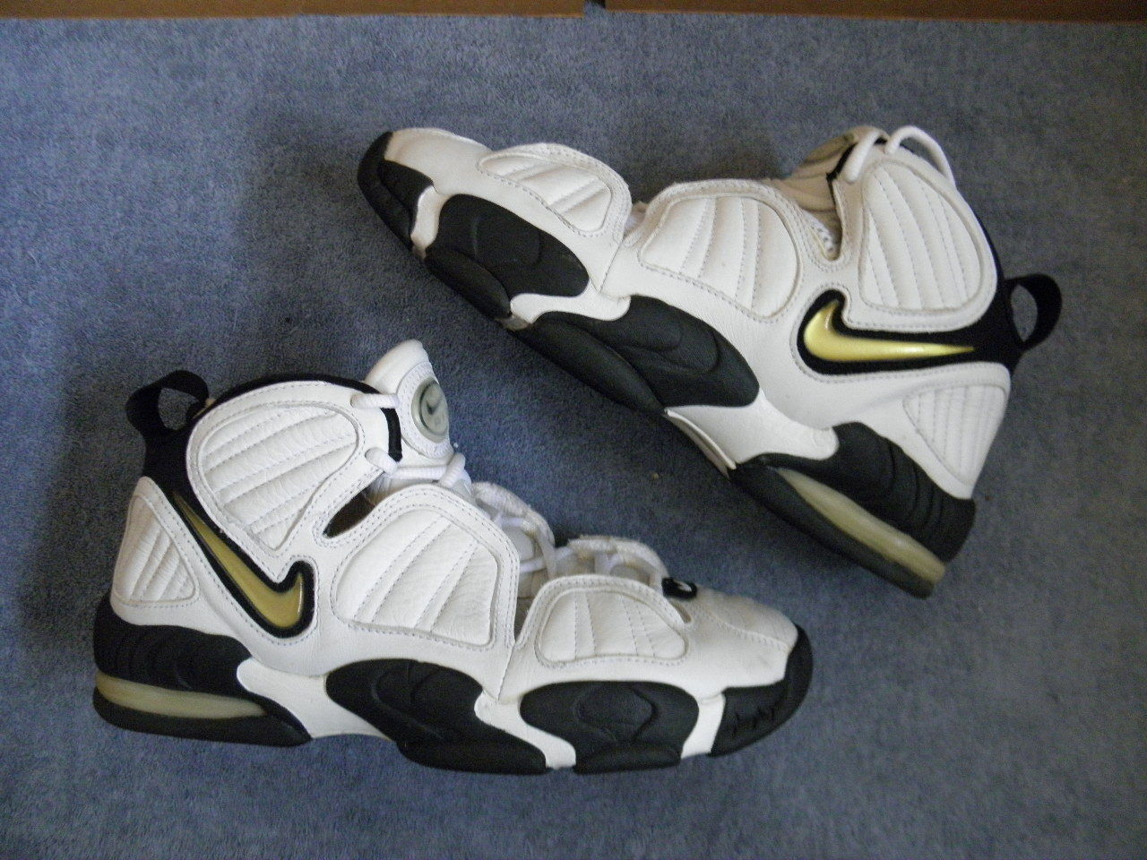 Nike Air Max Uptempo Zoom TB Team Basketball 3.0 Reggie Miller 11.5 vintage 90s