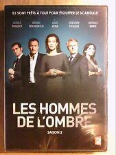 BOITIER 2 DVD SERIE / LES HOMMES DE L'OMBRE, INTEGRALE SAISON 2 / NEUF CELLO
