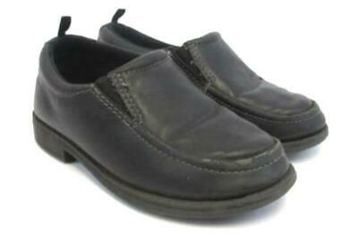 Healthtex Toddler Boys Dress Shoe Black Size 11 Cushion Arch Support nonmarking