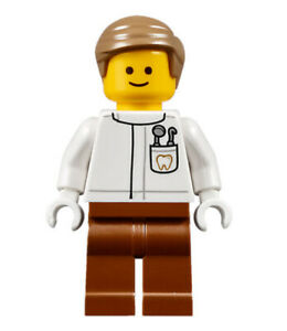 LEGO-Creator-Minifigure-Dentist-NEW-from-set-10255