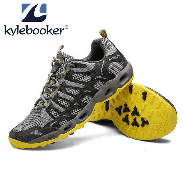 Breathable Wading Upstream Trekking Aqua Sports Sneakers Walking Fishing shoes