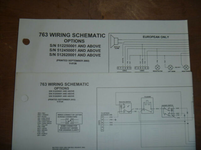 Bobcat 763 Skid Steer Electrical Wiring Diagram Schematic