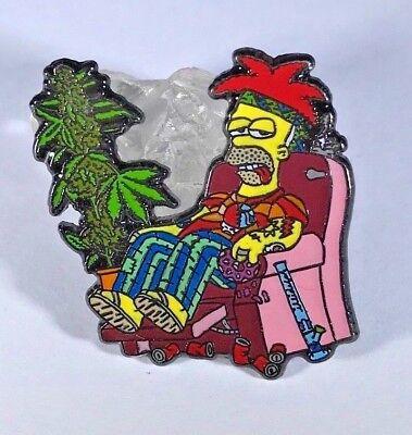 CRAB JUICE  Enamel Pin  The Simpsons bart homer lapel pin mountain dew