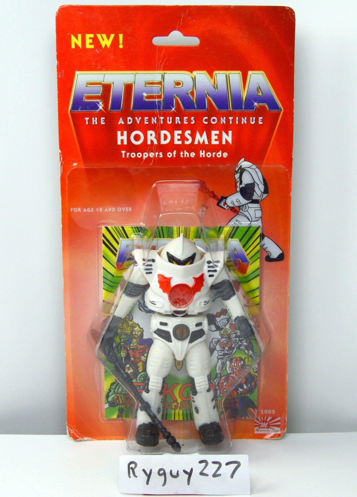 MOTU, Hordesmen, Horde Trooper, Musashi Toys, MOC, Masters of the Universe, MOSC
