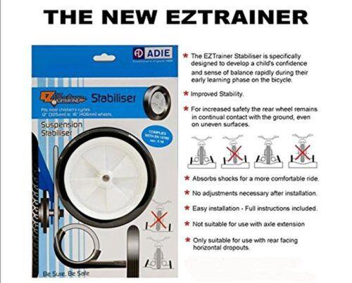 Adie AD7333 Ressorts EZ Trainer Stabilisateur Roue-Blanc Taille 12//16