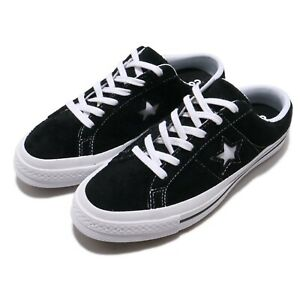 Details about Converse One Star Mule Black White Men Women Casual Slip On Shoes Sandal 162066C