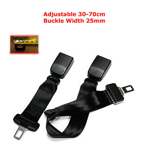 30-70CM-ADJUSTABLE-CAR-SAFETY-SEAT-BELT-EXTENSION-EXTENDER-SUPPORT-BUCKLE-25MM