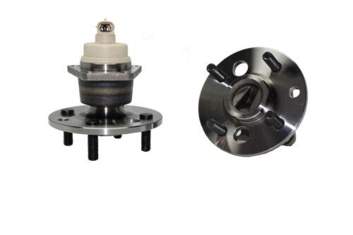 4 Lug ABS 1991-2002 Saturn SC SL SW Series Rear Wheel Bearing /& Hub Assembly
