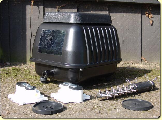 Yamitsu Hi-Flow Professional Pond Air Pump Airpump Hydrophonics (koi,filter)