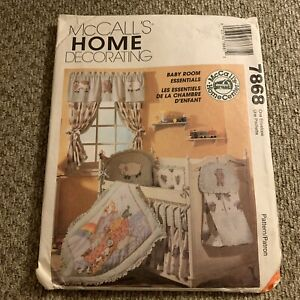 McCalls 7868 Baby Room Essentials Sewing Pattern home ...