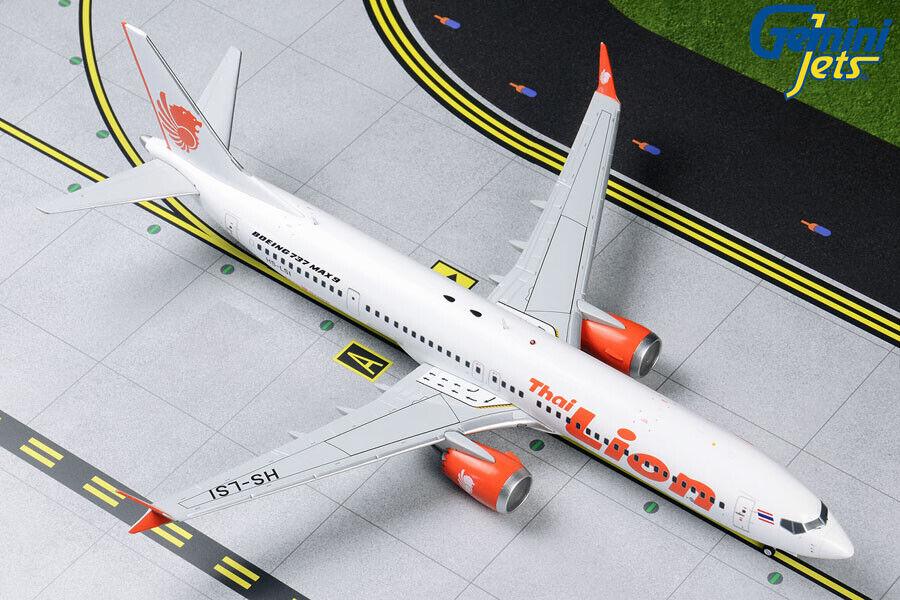 Gemini Jets 1 200 200 Thai Lion Air Boeing 737 MAX 9 HS-LSI G2TLM820 IN STOCK