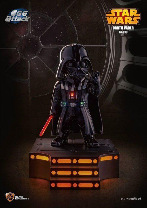 BESTIA REGNO UOVO ATTACCO Star Wars EA-010 Darth Vader EPISODIO V Action Figure